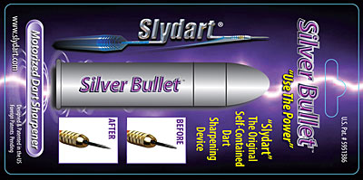 Silver Bullet Motorized Dart Sharpener