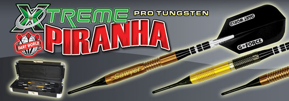 Extrem Piranha Soft-Tip - including Tom Sawyer Darts